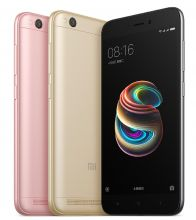 Redmi 5A, 16Gb, Black, Gold