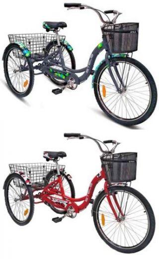 Грузовой 3 х колесный велосипед для взрослых Stels Energy I 2019
