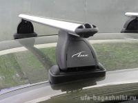 Багажник на крышу Mercedes-Benz CLS-klasse II (W218), Lux, аэродинамические  дуги (53 мм)