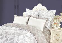"""Комплект постельного белья  Сатин  """"KAZANOV.A""""  Джардини 1.5 спальный   Арт.1128/1"""