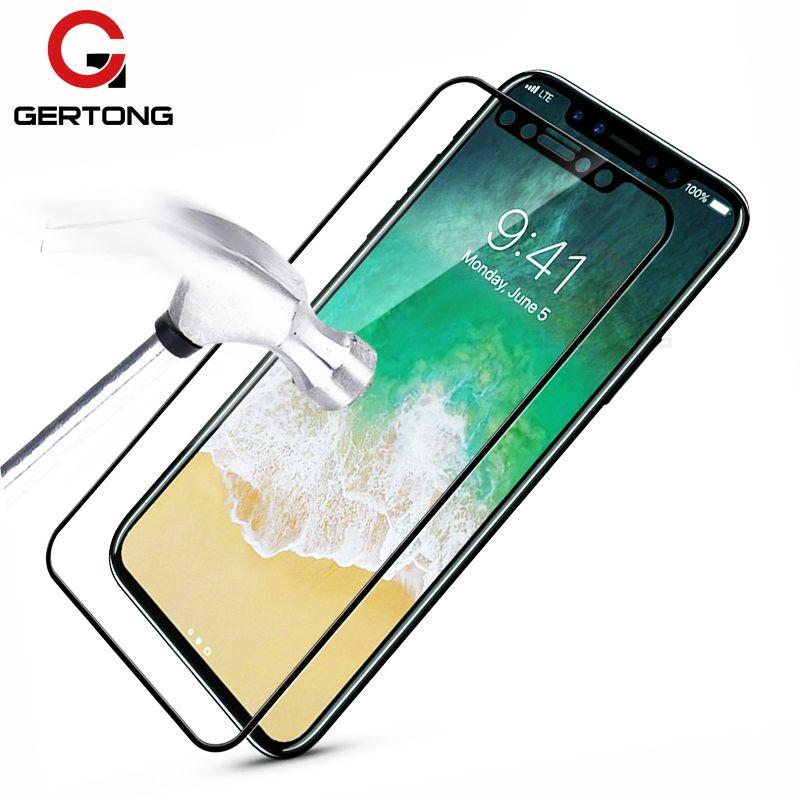 Защитное стекло для Apple iPhone X Premium