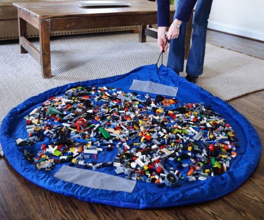 Коврик-мешок для игрушек Toy Storage Bag