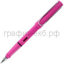 Ручка перьевая Lamy Safari розовая F 013
