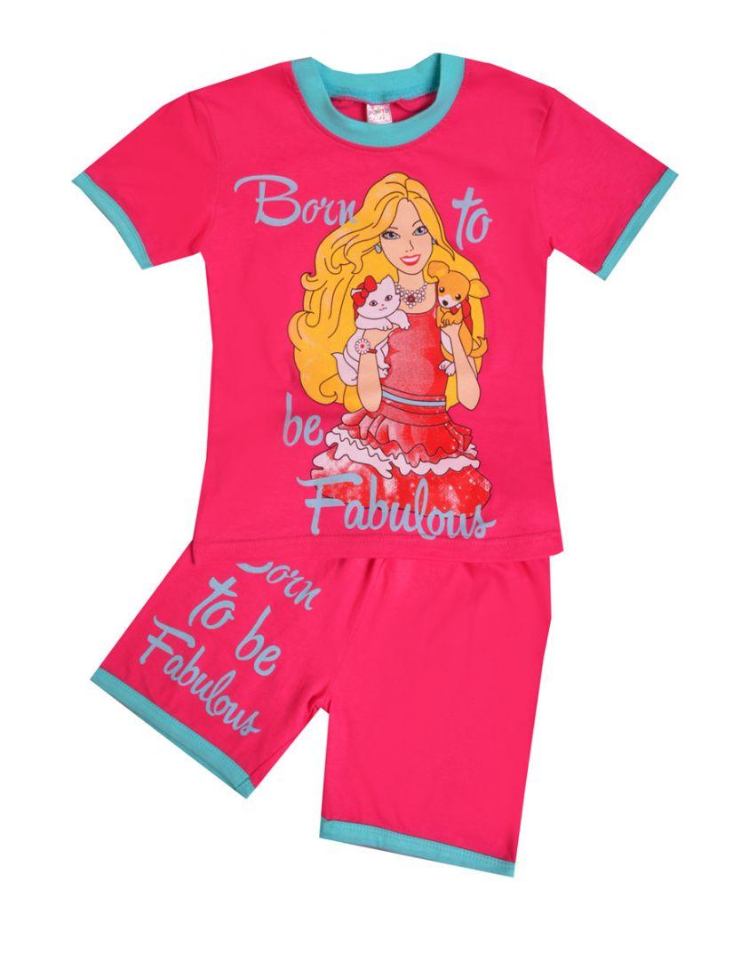 Комплект для девочки Модница цвета фуксии