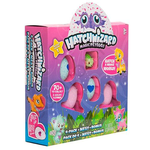 Яйцо сюрприз – HATCHWiZARD, набор из 5 игрушек