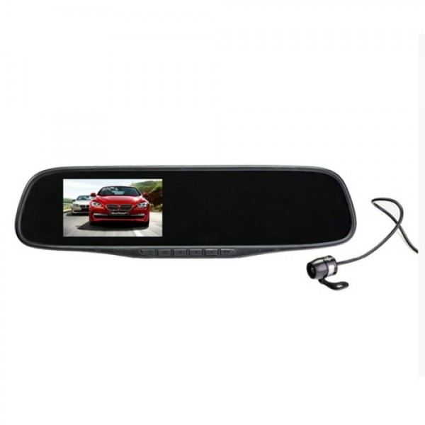 VIPER C3-351 Duo  автомобильный видеорегистратор + зеркало + камера заднего вида
