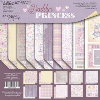 """Набор двусторонней бумаги 30х30см от Scrapmir """"Daddy's Princess"""""""