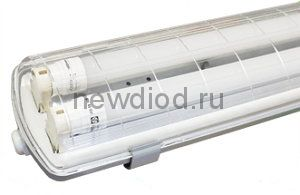 Светильник влагозащищенный SSP под 2 лампы T8/G13 1200мм IP65 Oreol