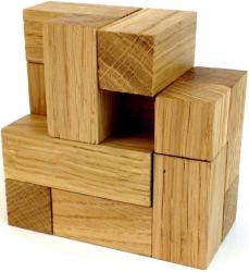 Головоломка зимний кубик