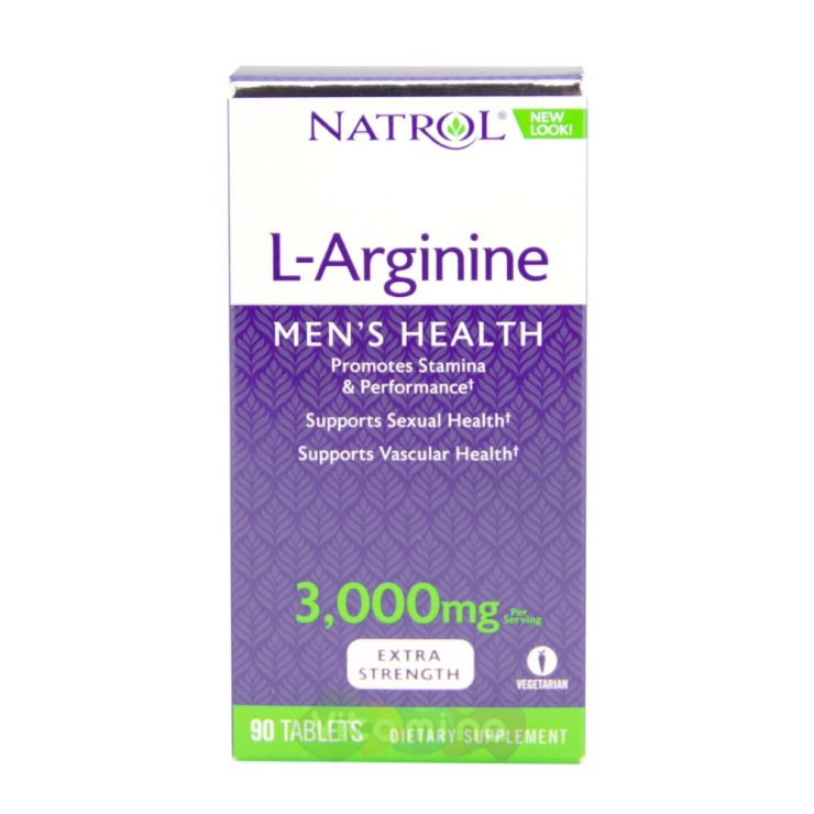 Natrol Аргинин 3000 мг (L-Arginine)
