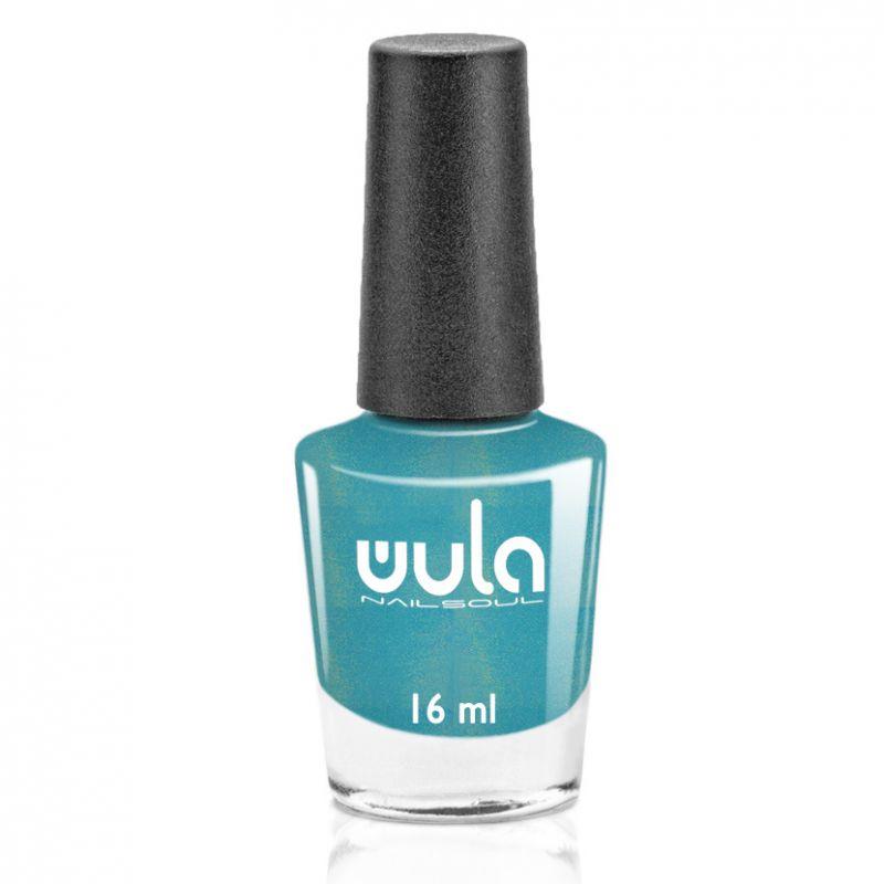 """WULA nailsoul Лак для ногтей, тон 64 """"Лазурь искрящаяся"""""""