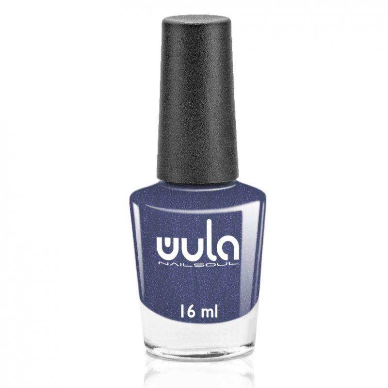 "WULA nailsoul Лак для ногтей, тон 78 ""Серый синий с шиммером"""