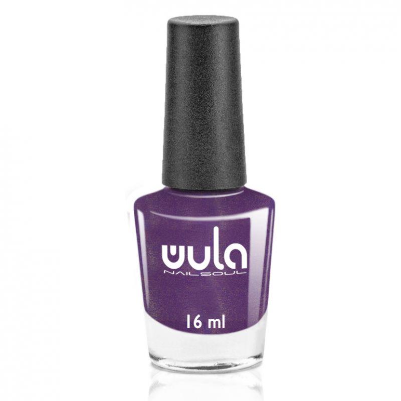 """WULA nailsoul Лак для ногтей, тон 81 """"Сливовый с синим шиммером"""""""