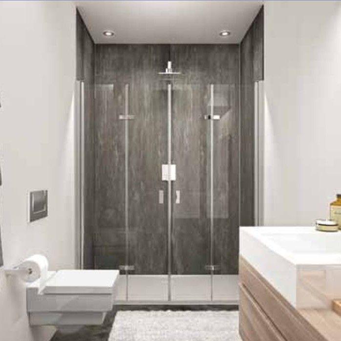 Huppe Design pure Две распашные складывающиеся двери в душ для ниши 8P79 ФОТО