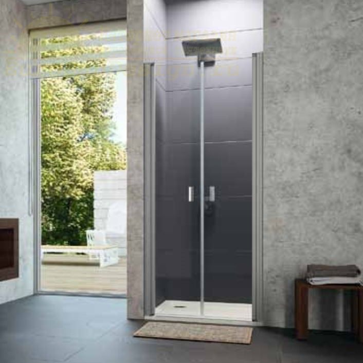 Huppe Design pure душевая дверь, открывающаяся вовнутрь и наружу, для ниши 8P13 ФОТО