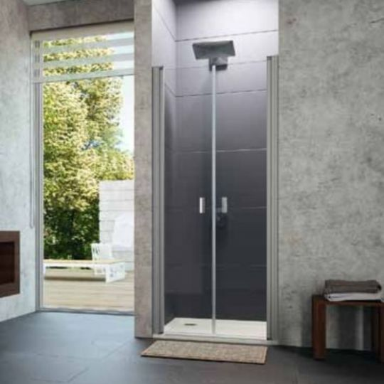 Huppe Design pure Дверь, открывающаяся вовнутрь и наружу, для ниши 8P13