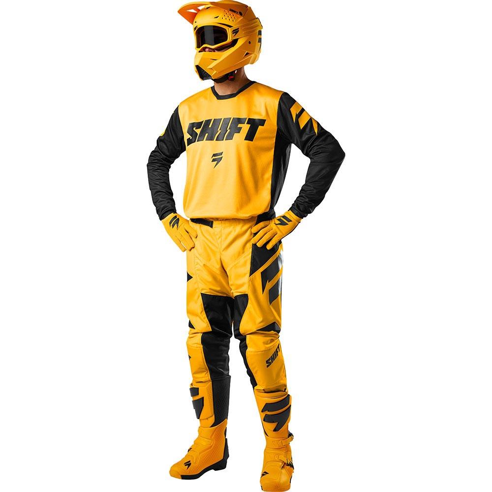 Shift - 2018 Whit3 Label Ninety Seven комплект джерси и штаны, желтый
