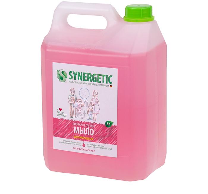Synergetic Мыло жидкое, АРОМАГИЯ , 5л.