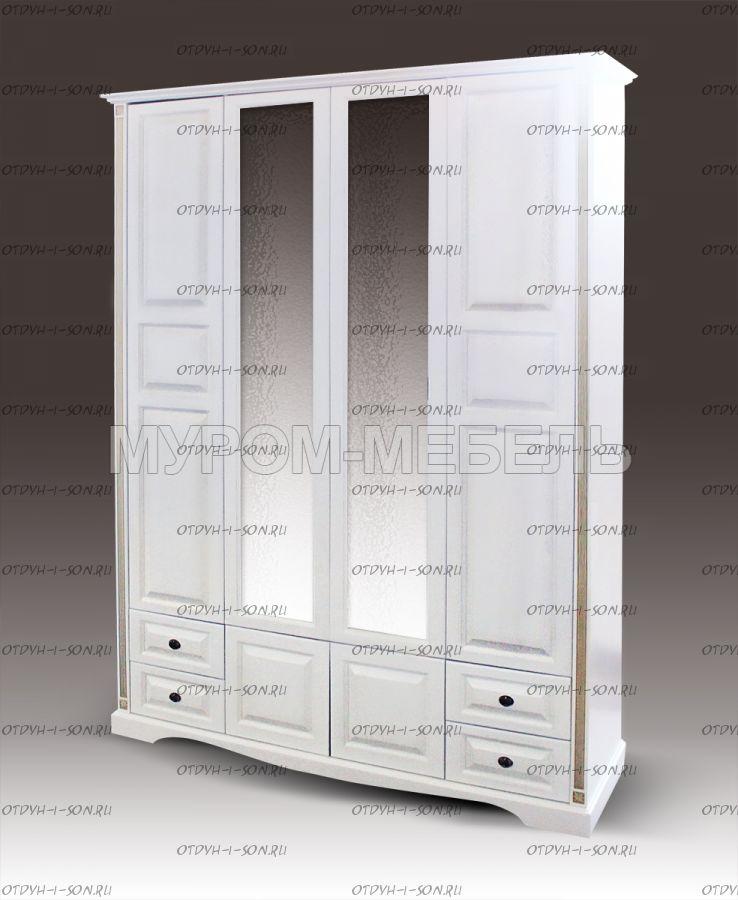 Шкаф 4-дверный Грета (180х55х240)