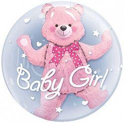 Шар гелиевый BABY GIRL