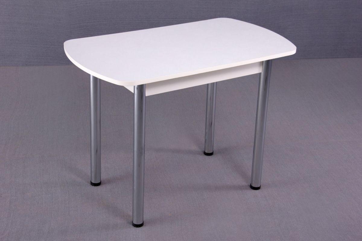 Стол обеденный 1000*600/1200*700 на хром.ножках