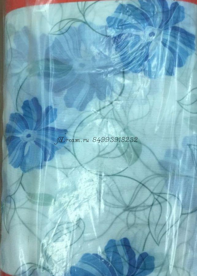 Вуаль печатная Цветы