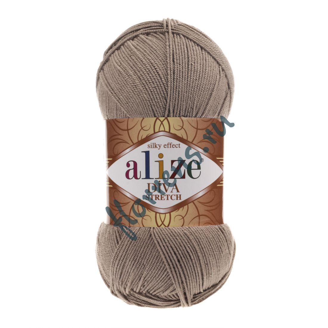 Пряжа Alize Diva Stretch / 167 беж