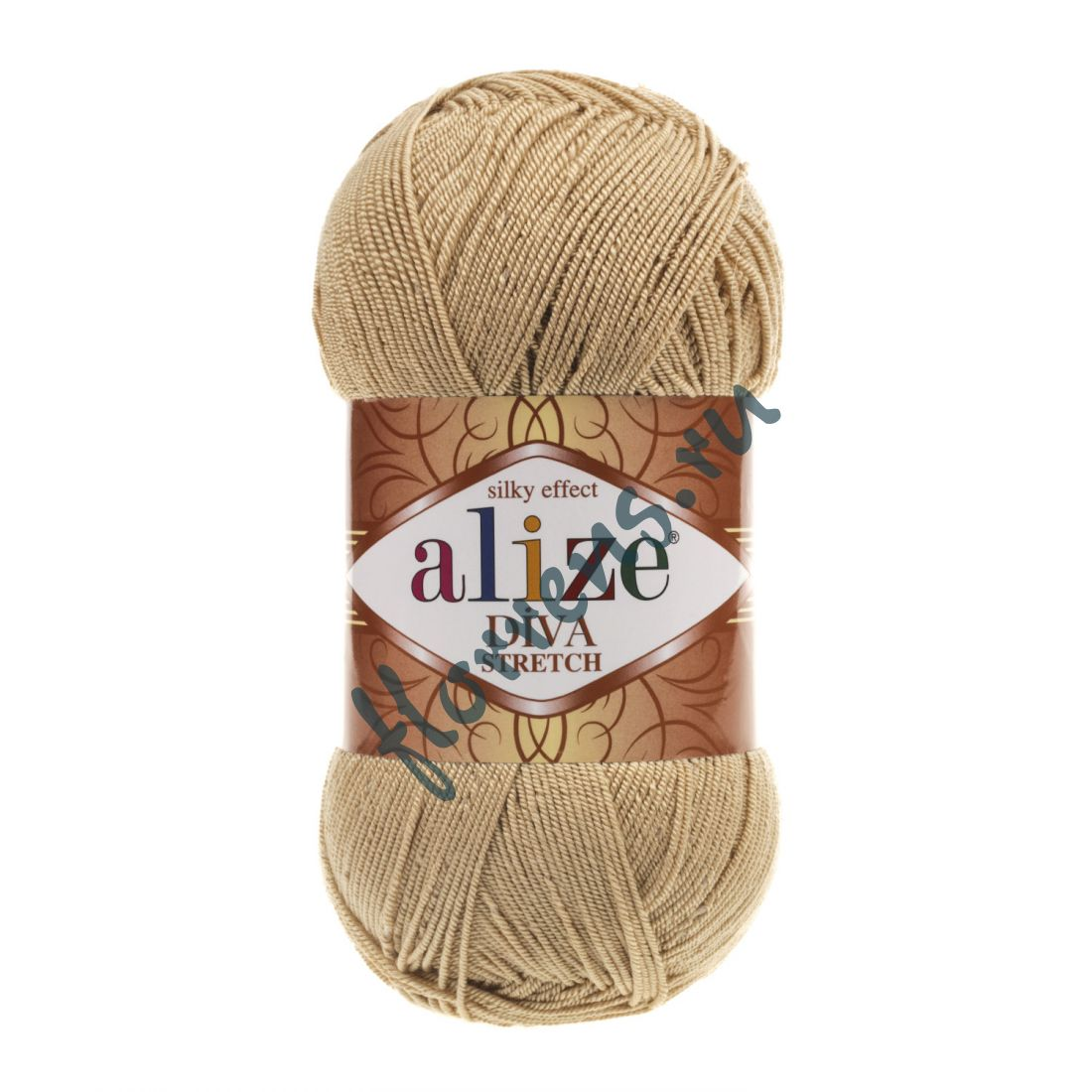 Пряжа Alize Diva Stretch / 368 беж