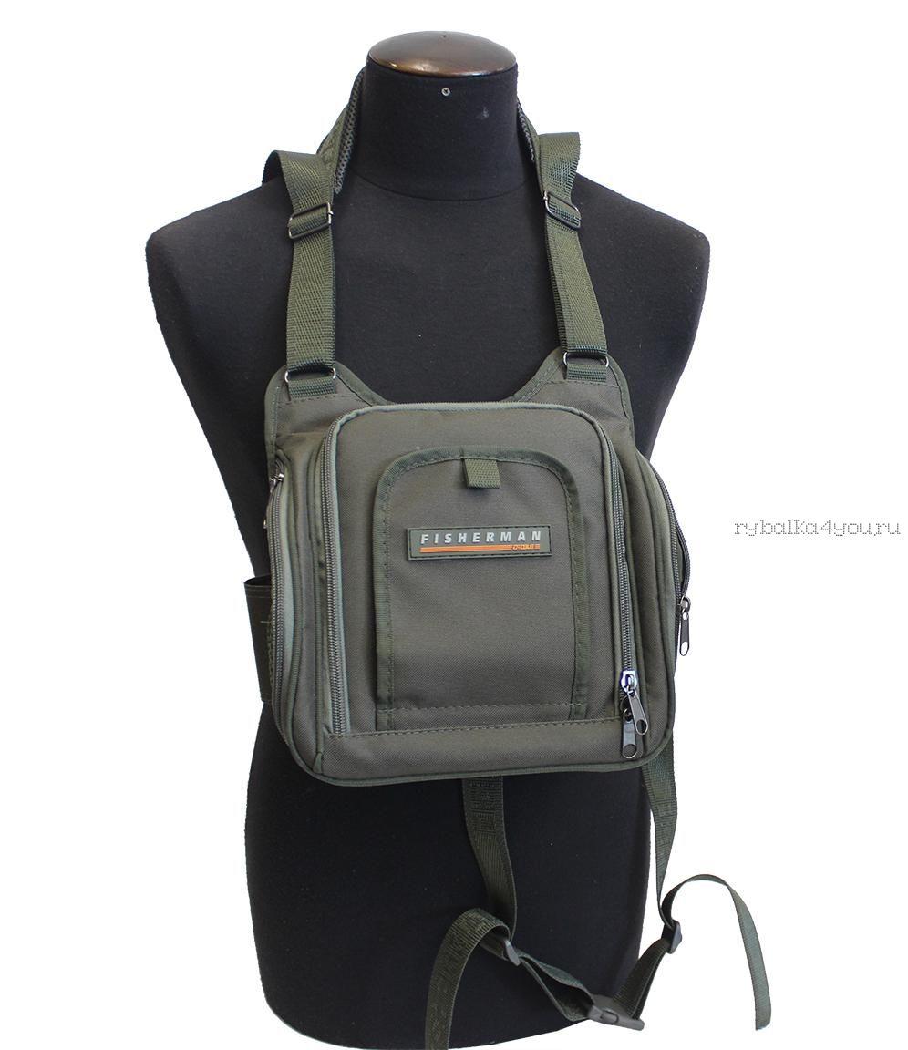 Купить Поясная и нагрудная сумка Fisherman/ Артикул: Ф57