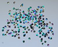3D бриллианты (кристалл) #12 для дизайна ногтей