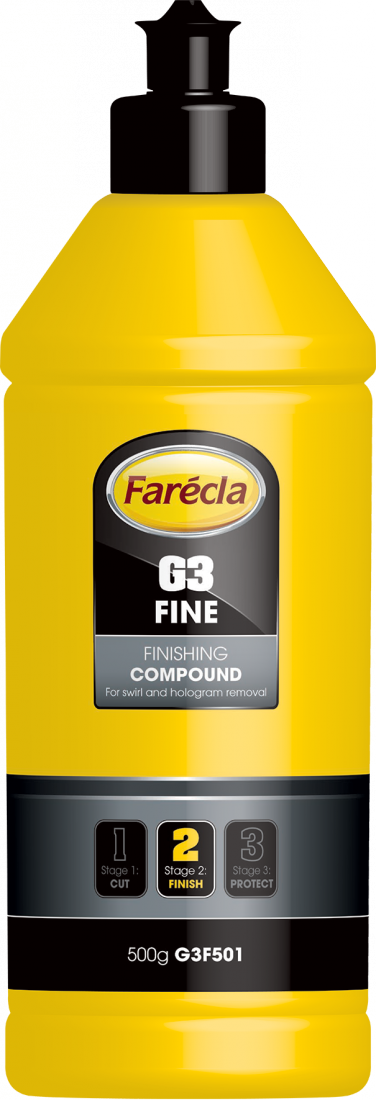 FARECLA G3 Fine Finishing Compound  - Паста для удаления мелких дефектов, 500гр.