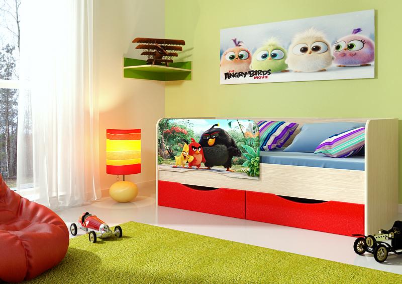 """Детская кровать """"Энгри"""" 1,8м."""