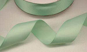 `Лента репсовая однотонная 15 мм, цвет: светло-зеленый