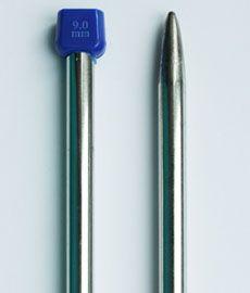 Спицы длинные металические 35 см № 9