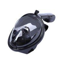 Подводная маска для снорклинга, Чёрный , Размер: L/XL