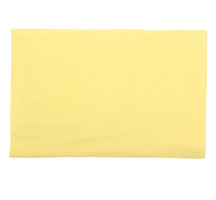 Пеленка фланелевая цвета светлый лимон