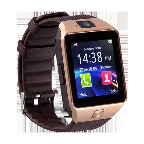 Умные часы Tiroki Smart Watch DZ09 (золотой)
