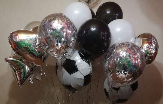 Сет шаров Футбольный