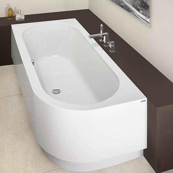Левосторонняя ванна Hoesch HAPPY D. арт: 6484/6485 180x80 ФОТО