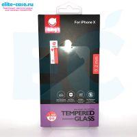 Защитное стекло Ainy GLASS для Apple iPhone X 0.2mm