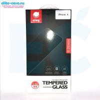 Защитное стекло Ainy GLASS для Apple iPhone X 0.25mm