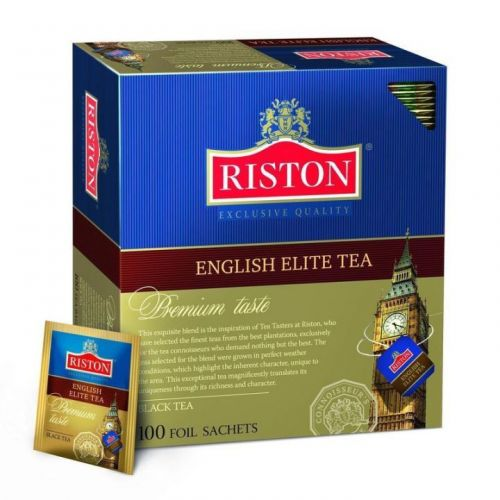 Чай Riston English Elite черный 100пак