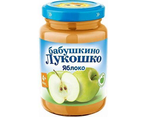 Бабушкино лукошко Пюре Яблоко с 4 мес., 100 г