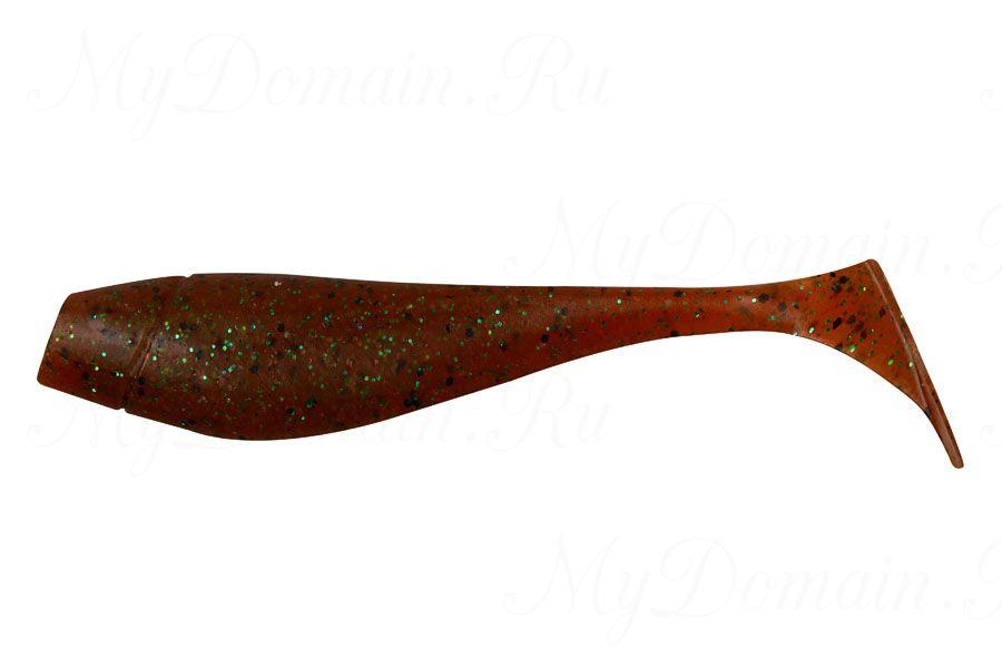 ВИБРОХВОСТ AKKOI ORIGINAL PUFFY 115мм (уп. 4 шт.), цв. OR21