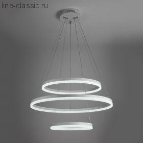 Светодиодный подвесной светильник Артикул: 90078/3 белый