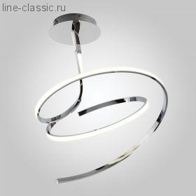 Светодиодный потолочный светильник Артикул: 90046/2 хром