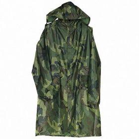 Дождевик-куртка XXXL на молнии и кнопках камуфл.