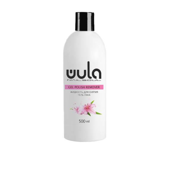 WULA nailsoul Жидкость для снятия гель-лака, 500 мл
