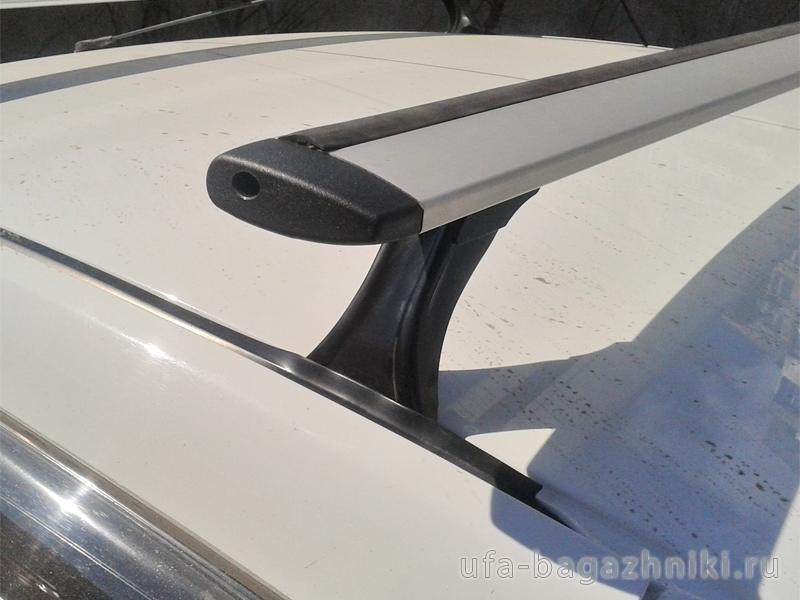 Багажник на крышу на Ладу Калину, Delta, аэродинамические (крыловидные) дуги