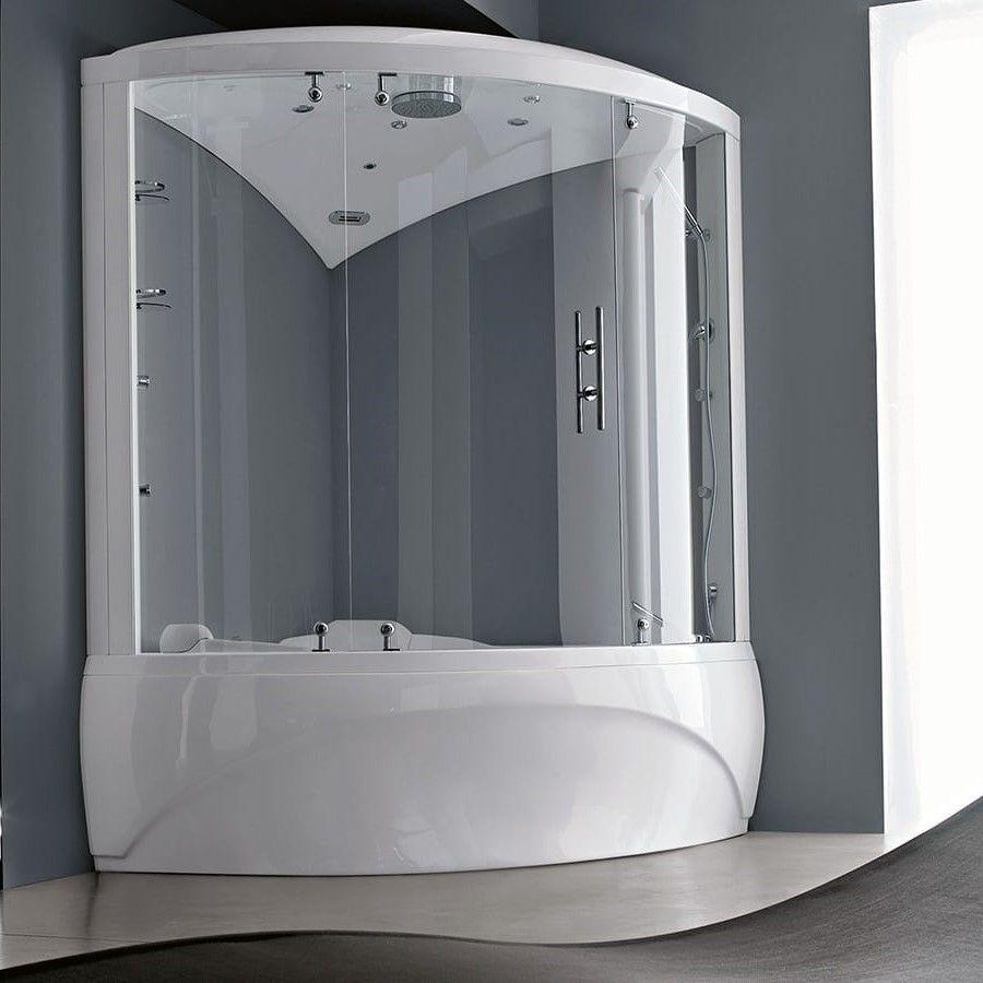 Комбинированный душевой бокс с ванной Gruppo Treesse Dafne Box 150x150 V724 + B5242 ФОТО